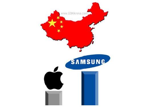 苹果被挤出中国手机前五:联想第一 小米第五